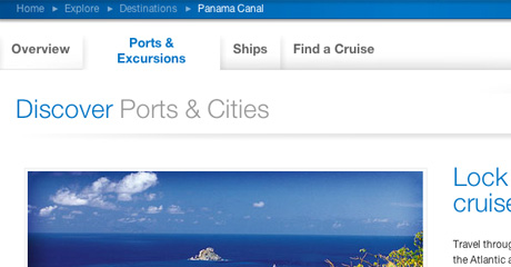 Destinations: Ports & Excursions